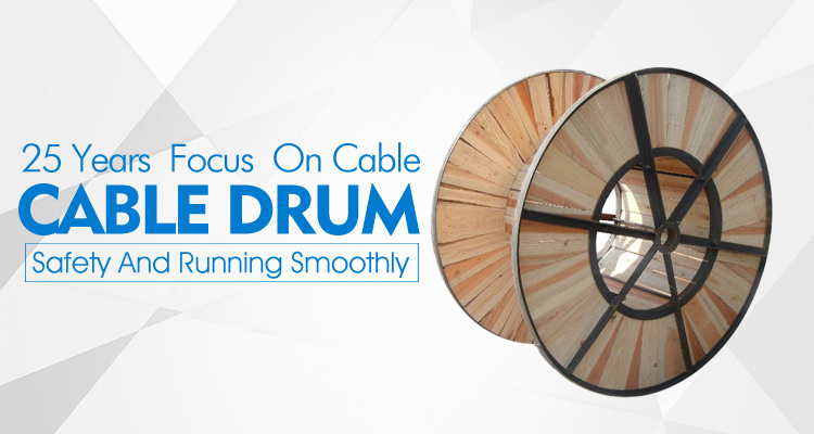 Cable Wooden Drum Package for Cable and Wire