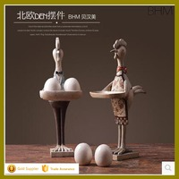 Animal figurines polyresin chicken craft and gift resin deocr