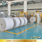 Roll white clay coated duplex paper board grey back