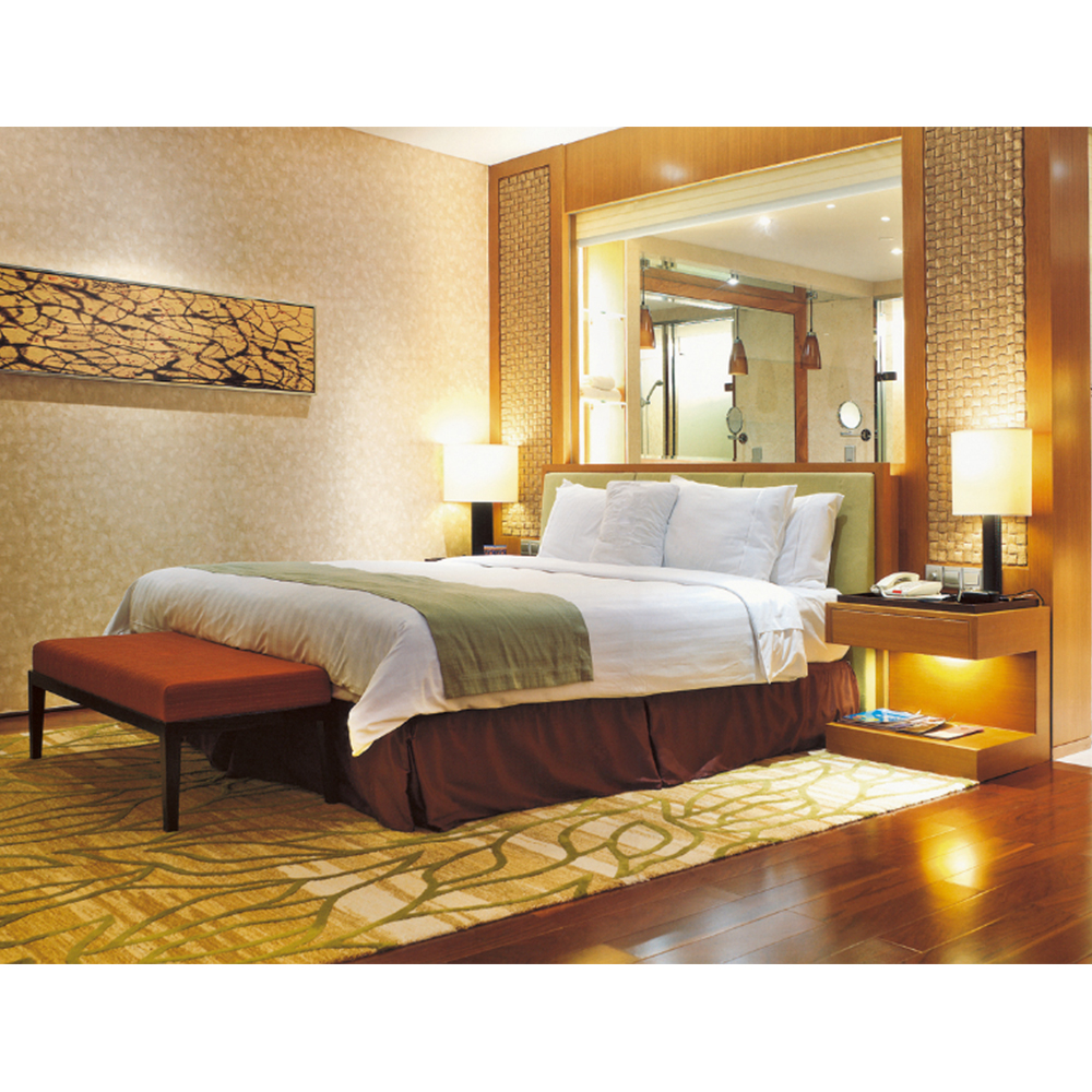 modern hotel bedroom furniture, wooden used hotel