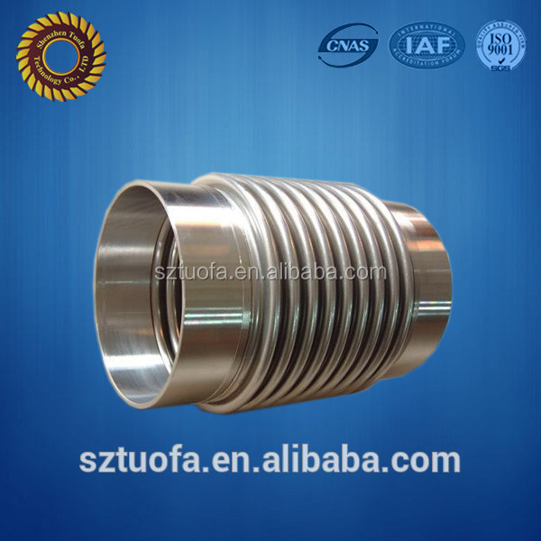 cnc machining service external threaded tube, excellent quality Stainless steel tube
