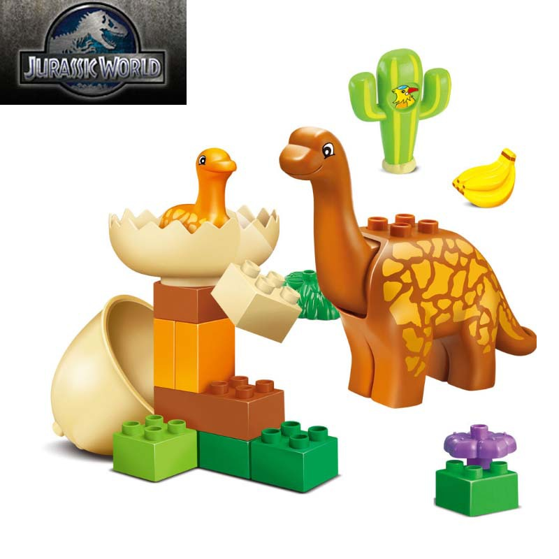 Buy Jurassic World 20pcs Dino Valley Building Blocks Large Particles