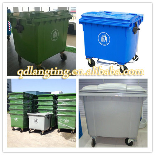 Recycle and medical waste container