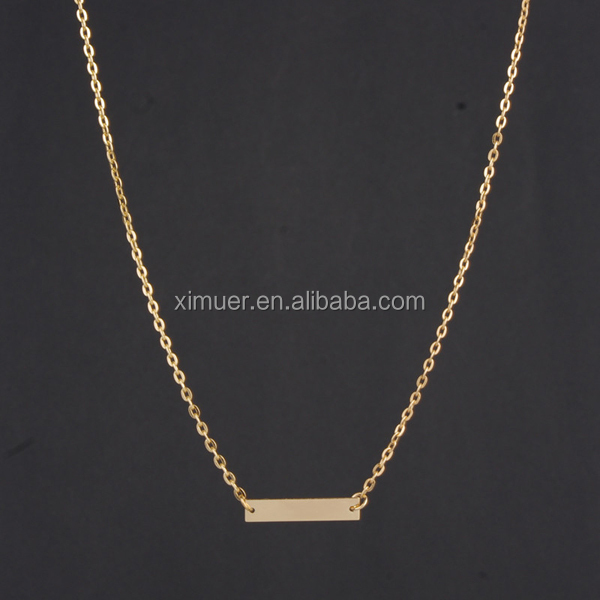 simple elegant jewelry necklace fake gold chains buy