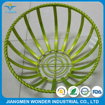 Bright Shiny Metallic Green Powder Coating for Kitchen Wire Racks