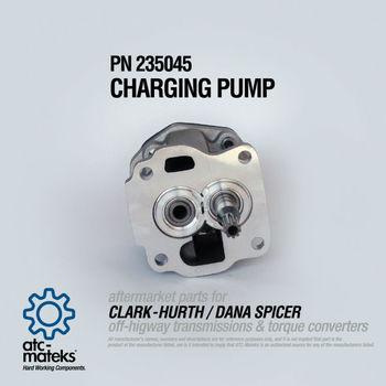 Charging Pump 235045 - Clark Hurth / Dana Spicer - Buy Clark Pump,Dana  Spicer Parts,Clark Transmission Parts Product on Alibaba com