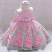 Little Girls Flower Princess Dresses Party Girls Wedding Dress