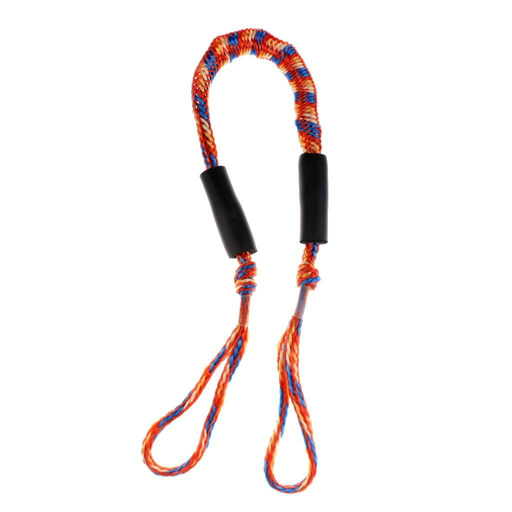 2x 3.5ft Marine Bungee Dock Line//Boat Mooring Rope Bungee Tie Stretch Red