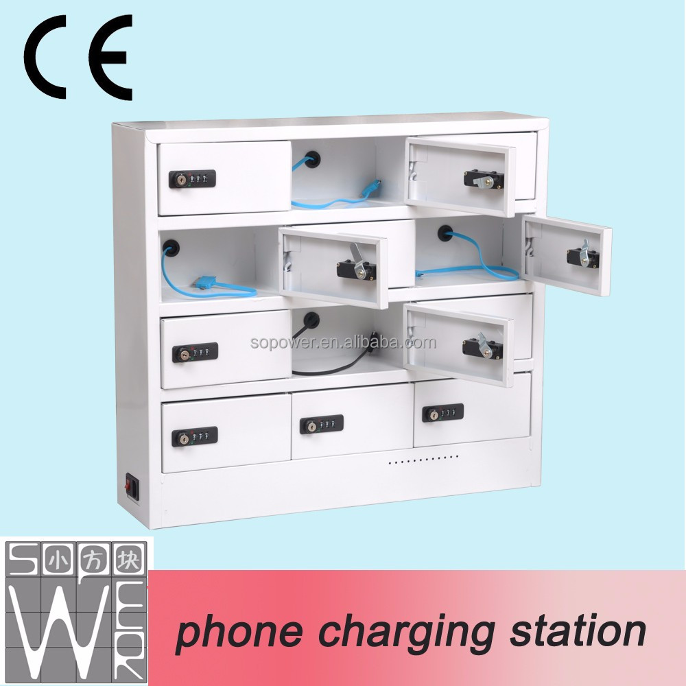 Cheapest wall mounted phone lockers, mobile charging stations