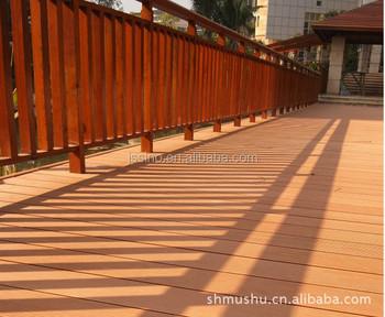 Passerelle per giardini esterno cavo di plastica pavimenti in legno