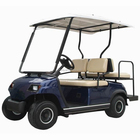 4 Seater Electric Sightseeing Car Golf Cart for Sale