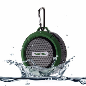 2018 Passion Waterproof Mini Portable Speaker with Suction Cup bluetooth Music Sound Box for Mobile Phones