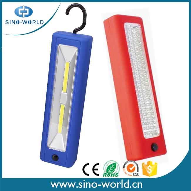 Hot Selling Ultra Bright 72 LED COB plastic commercial electric harbor freight led work light