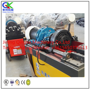 Portable Cold Steel Bar Rebar Thread Rolling Machine