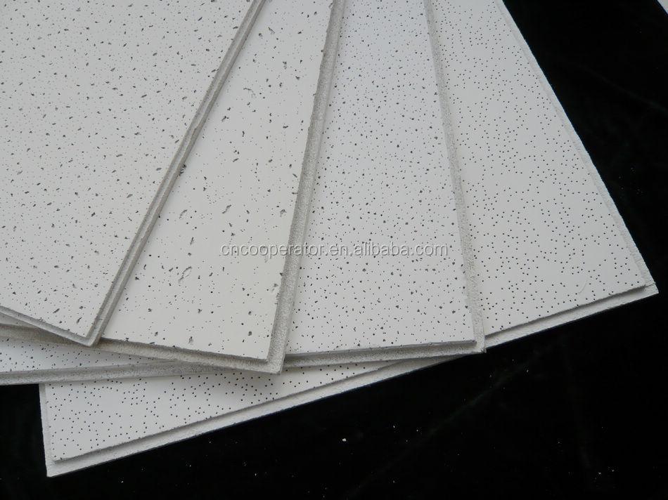 Mineral Fiber Board : Acoustical mineral fiber ceiling board for hospital hotel
