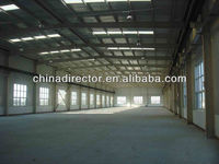 Prefabricated Shed Modular Building Steel Structure Used Shoes Warehouse