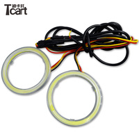 Tcart hot sale COB color changing angel eyes RGB remote control angel eyes