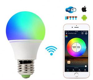 Factory Good price rgb color led light bulb rgb color changing wifi bulb factory rgb color changing wifi bulb