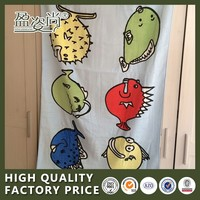 Alibaba China Supplier Cotton Fabric Bath Towel With Cartoon Characters