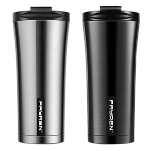 Valentine's day leak proof BPA-free durable double walled insulated vacuum travel auto stainless steel coffee mug