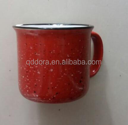 printed ceramic enamel mugs with lid