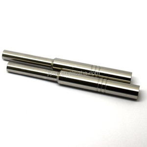 High precision stainless steel two sided machining grinding rod with hole in micro