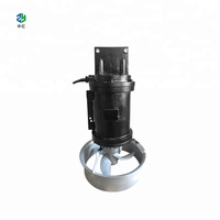 QJB high quality submersible mixer made of carbon steel