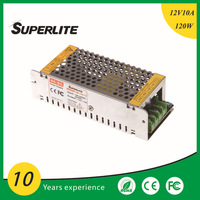 Mini Switching Power Supply LED Driver 12V 10A smps Shenzhen