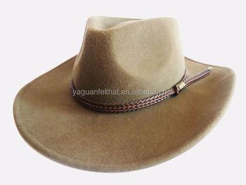 4c40fa9db09f4 Factory Wholesale Stetson Wool Australia Wool Felt Cowboy Hat - Buy ...