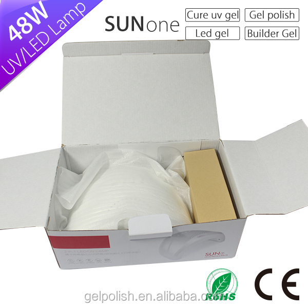 wholesale 48W SUNONE nail led lamp 24 pcs have big discount