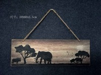 2016 top selling wholesale MDF board wood hanging wooden sign wall decorative