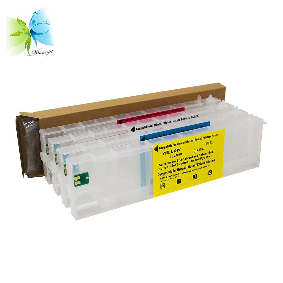 Eco-HS1 HS SS21 ES3 Sb52 ink cartridge for MIMAKI JV5 series printers JV5-130 JV5-160 JV5-320