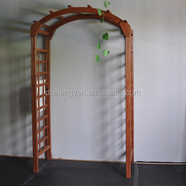 Eco-friendly Outdoor Decorative Garden Wooden Arches