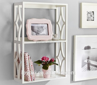 2017 Cheap New Design Beauty wooden Bookshelf , wall decoration