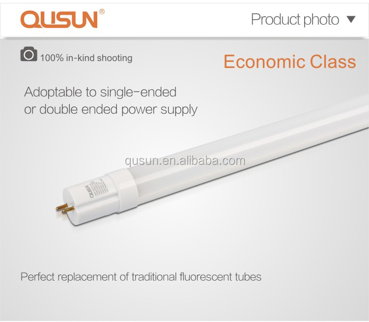 Qusun Led T8 Tube 1200mm,18w,Replacement Of Fluorescent Tube ...