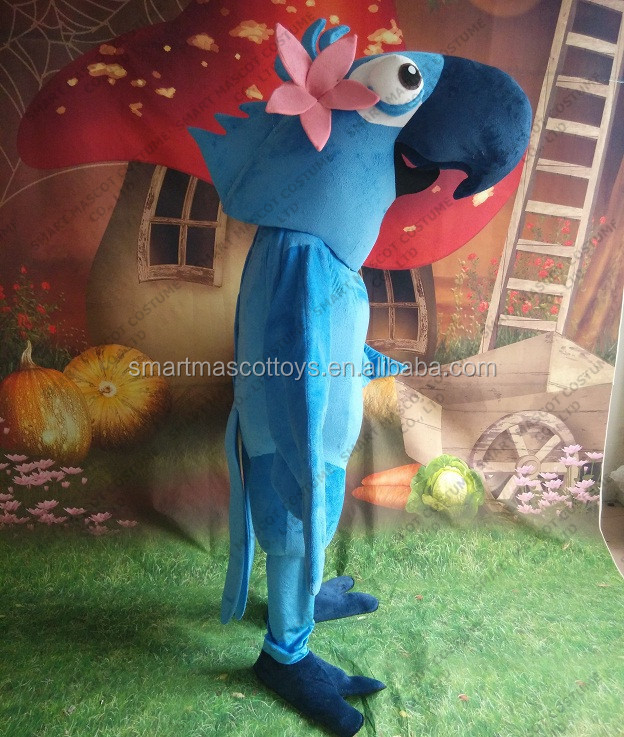 Life size cartoon parrot mascot costume for party adult parrot mascot costume