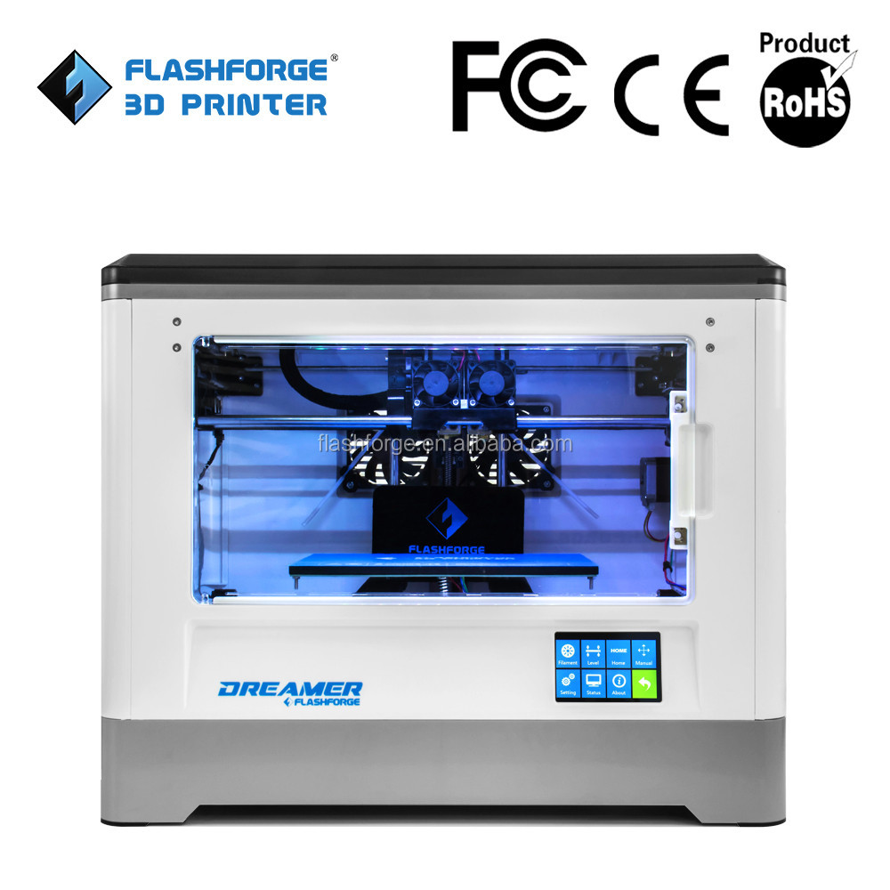 2016 Flashforge Dreamer desktop 3d printer object/DIY/phototype printing machine manufacture