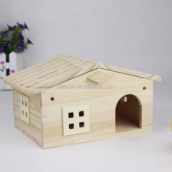 Wooden Bird Cage, Wood Bird House, Garden Decorative Bird Cage