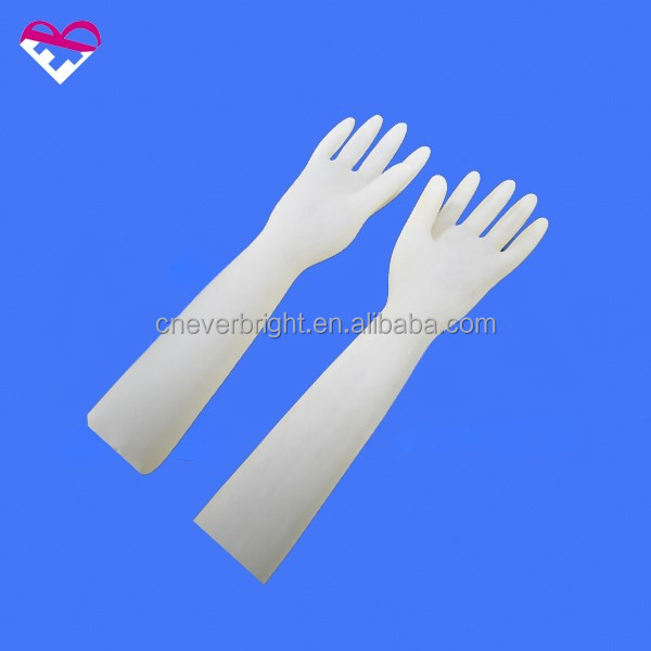 Good oil resistance rubber hand gloves