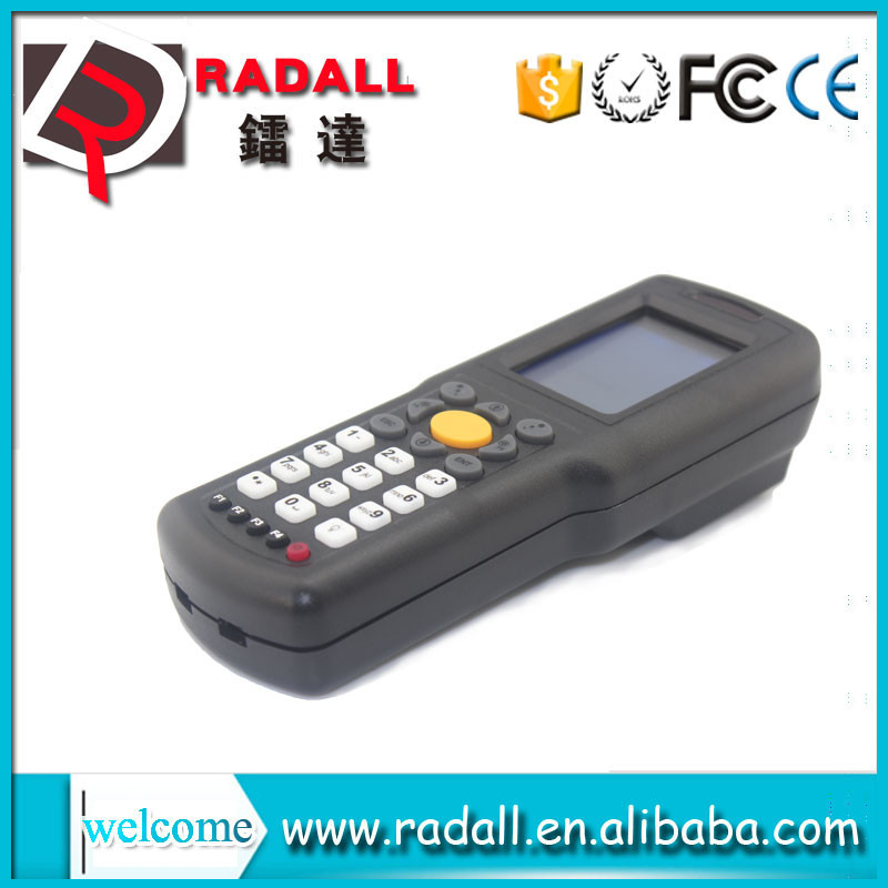 Trade Assurance RD 9800 wireless datamatrix reader collector code bar scanner upload data to excel with keyboard