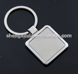 Different Blank Shape Metal Car Keychain / Custom Logo Keychain/Cheap Car Logo Keychain