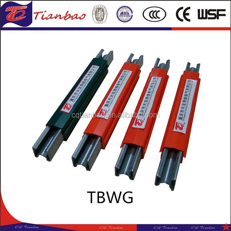 galvanzied steel conductor pvc busbar conductor bar