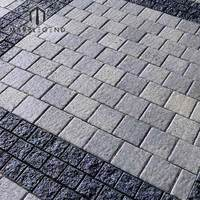 Outdoor Cheap Split Colorful Patio Granite Paving Stone