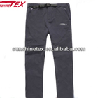 Men's breathable soft shell trousers