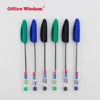 Transparent plastic Medium Point non-toxic Waterproof ink stick ball point pen