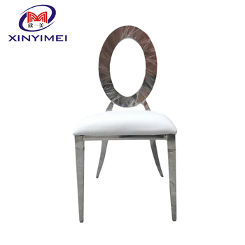 Durable furniture stainless steel frame dining chair made in China