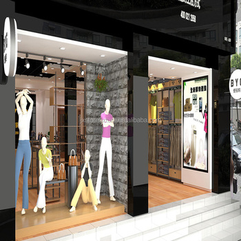 Briliant ideal clothes displays retail garment shop - Men s clothing store interior design ideas ...