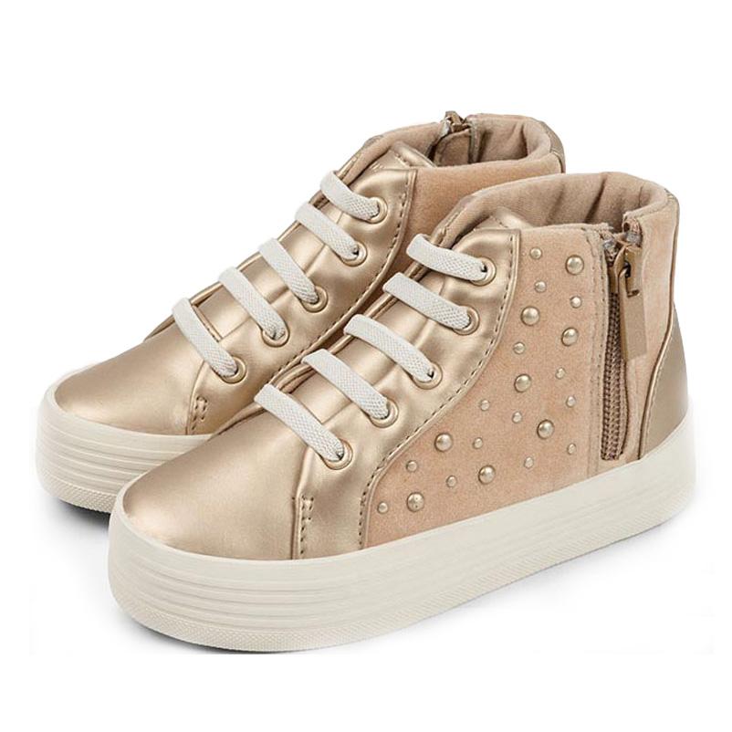 beautiful in colour exclusive range footwear Fashion Design Golden Glitter Girls Sneaker Shoes Kid Footwear Sport  Lace-up Shoes - Buy Kid Footwear,Sport Shoes,Girls Sneaker Shoes Product on  ...