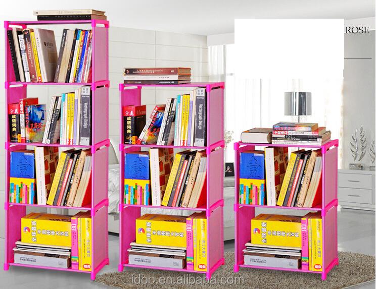 Fashion Living Room Furniture Portable Cloth Bookshelf/book Shelf ...