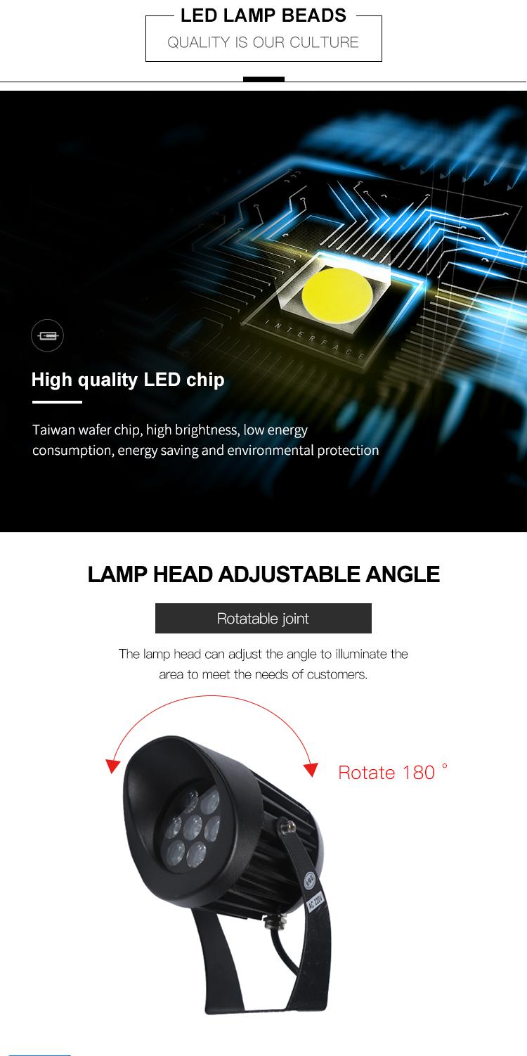 Aluminium Außen Beleuchtung Ip65 Wasserdicht Pathway 3 5 15 watt led-strahler